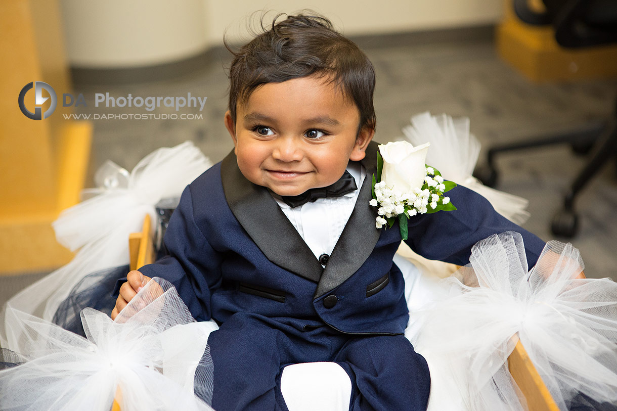Kids photography on a wedding day