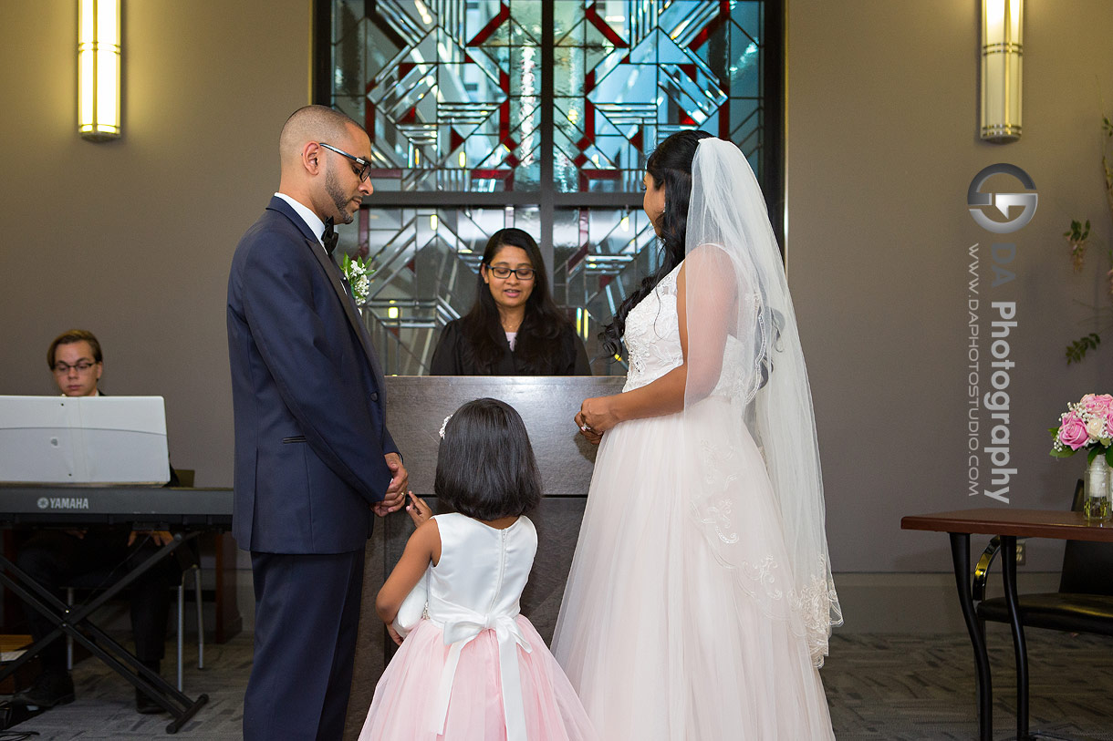 Wedding Pictures at City Hall in Mississauga