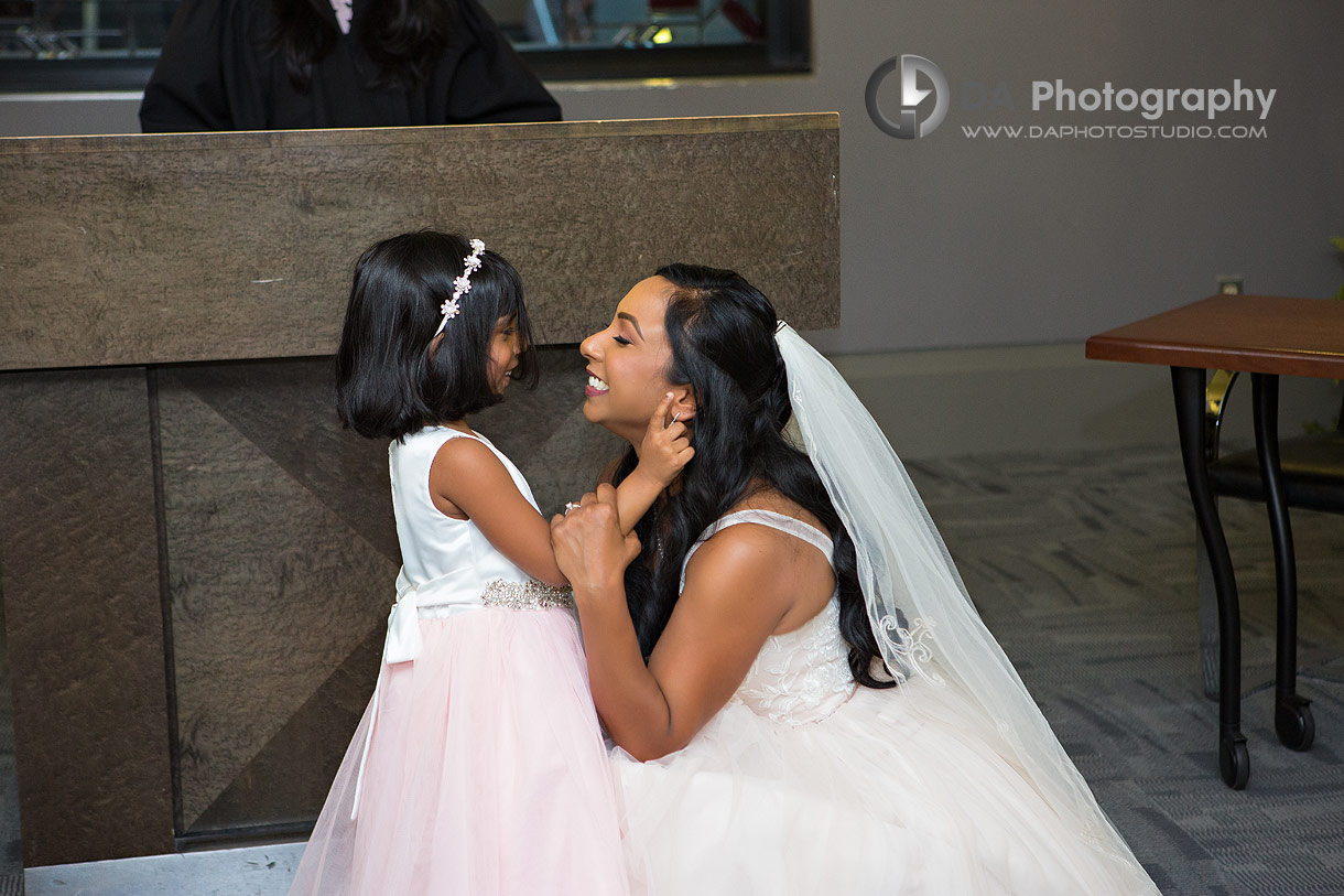 Wedding Photos at City Hall in Mississauga