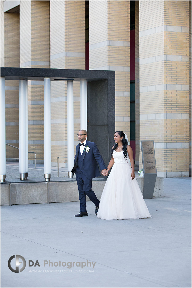 Intimate wedding in Mississauga