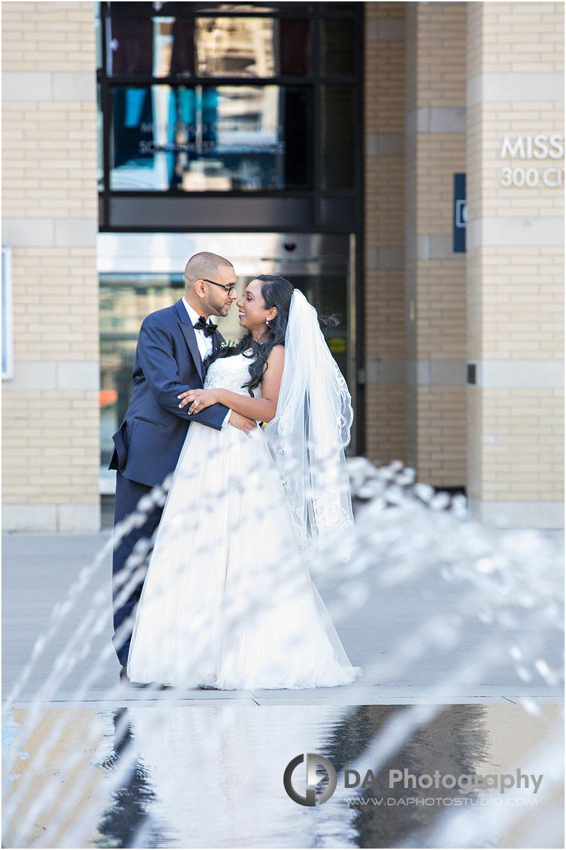 City Hall Wedding in Mississauga