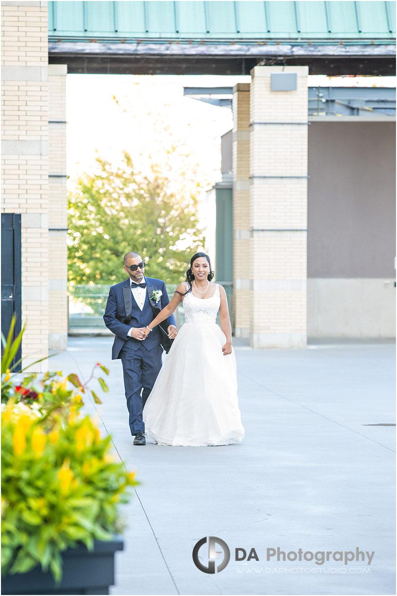Wedding Dress at City Hall