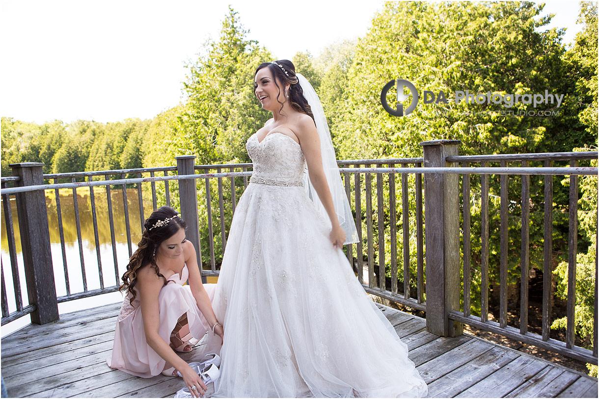 Bridesmaid at MillCroft Inn and Spa