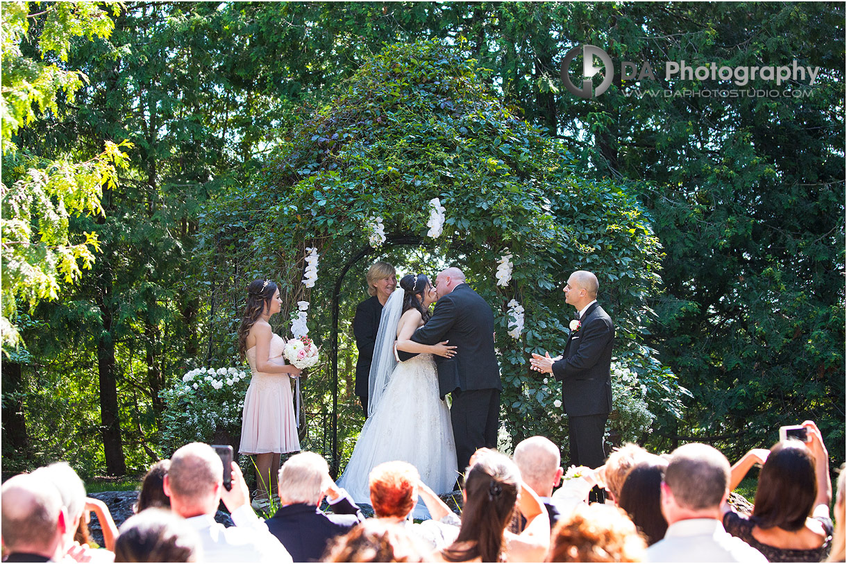 Bride and Groom at MillCroft Inn and Spa