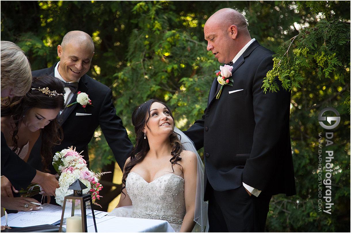 Outdoor Weddings at MillCroft Inn and Spa