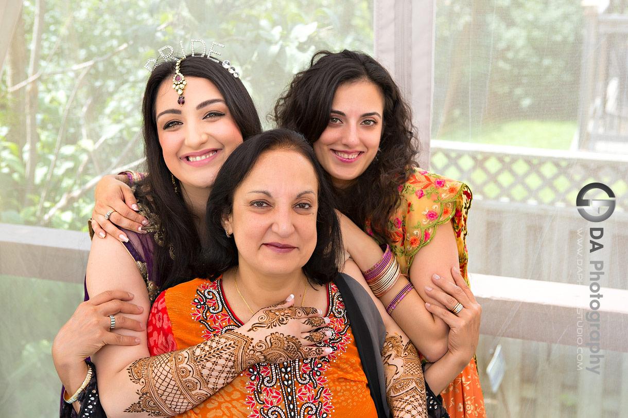 Henna wedding ceremony family photos