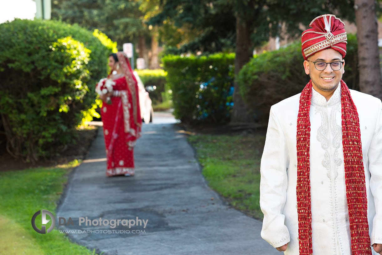 Bride and Groom in Mississauga