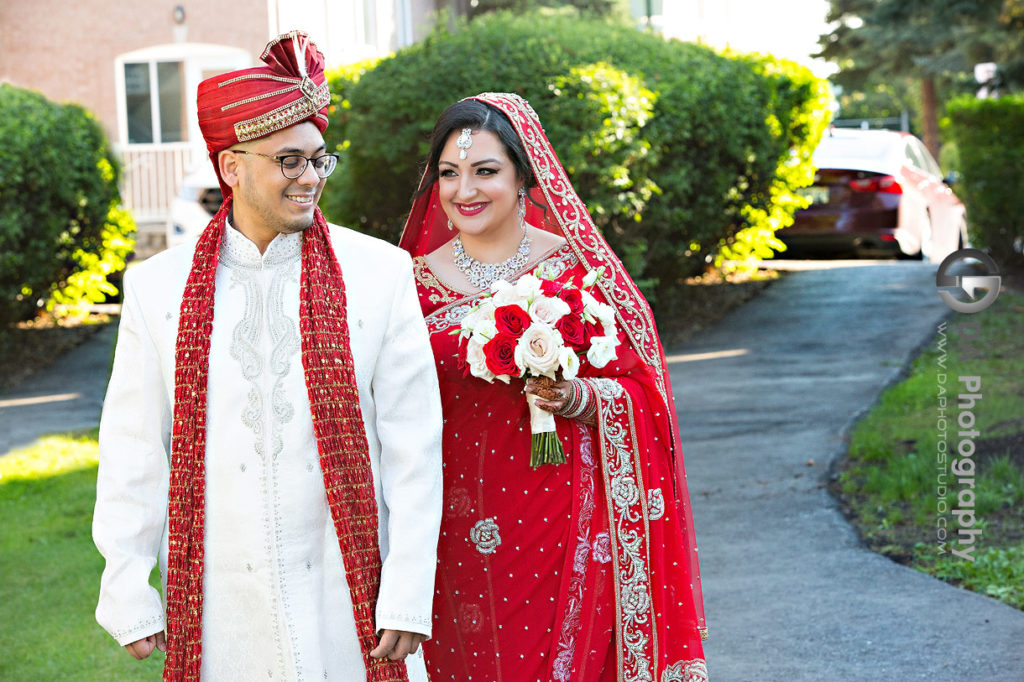 First Look at Hindu Temple Wedding