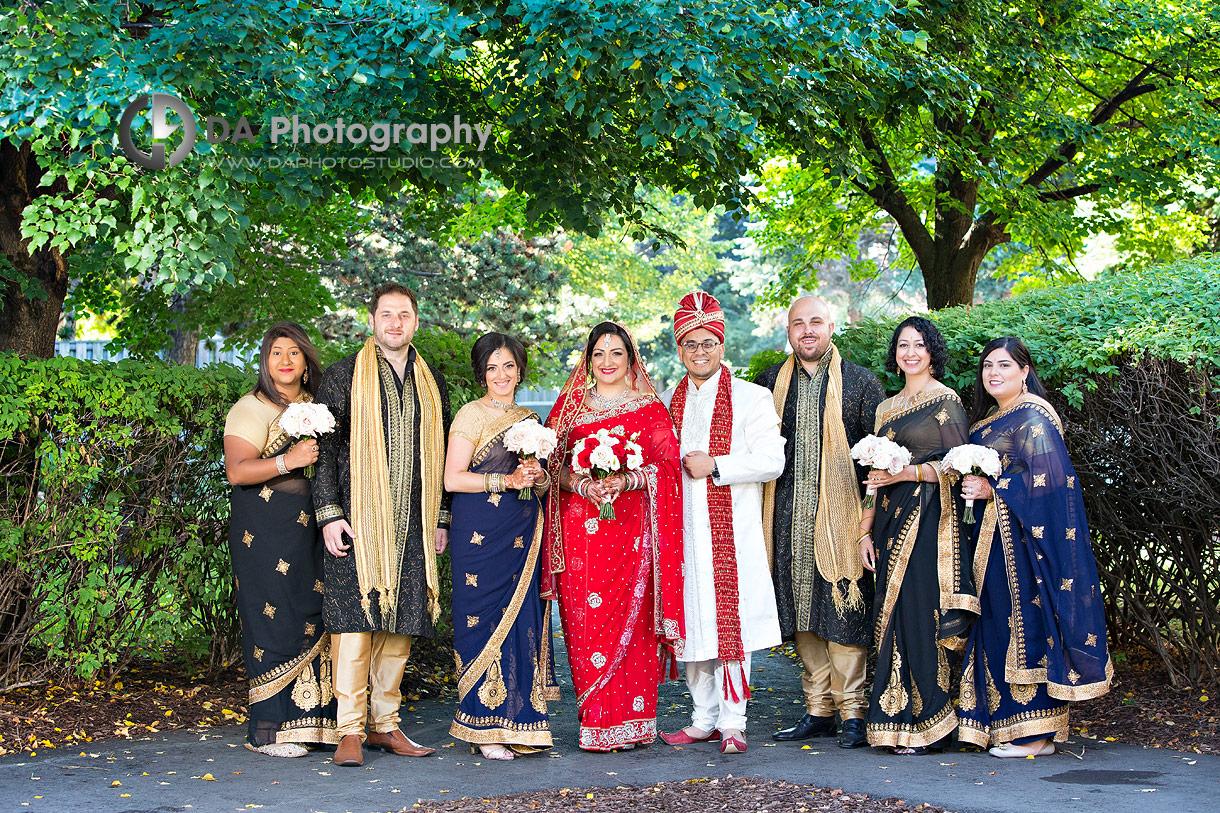 Wedding Dress at Hindu Temple