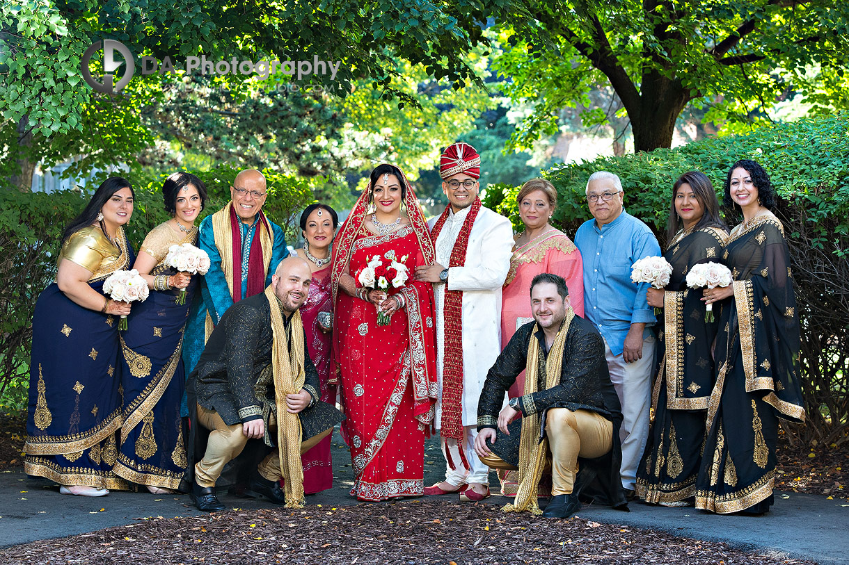 Wedding Pictures at Hindu Temple in Mississauga