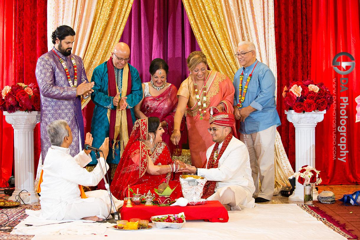 Wedding Ceremonies at Hindu Temple