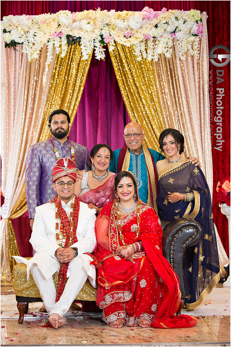 Wedding Ceremony at Hindu Temple in Mississauga