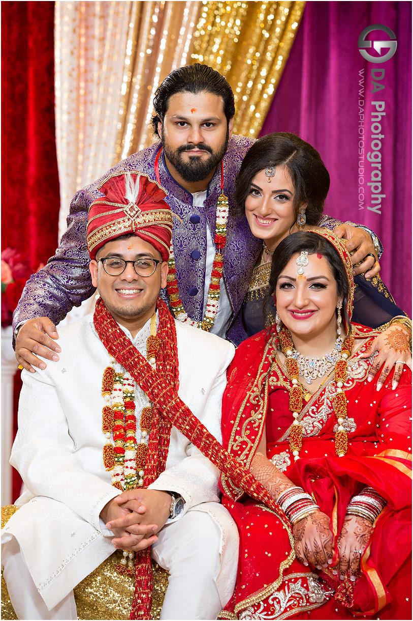 Wedding Photography at Hindu Temple