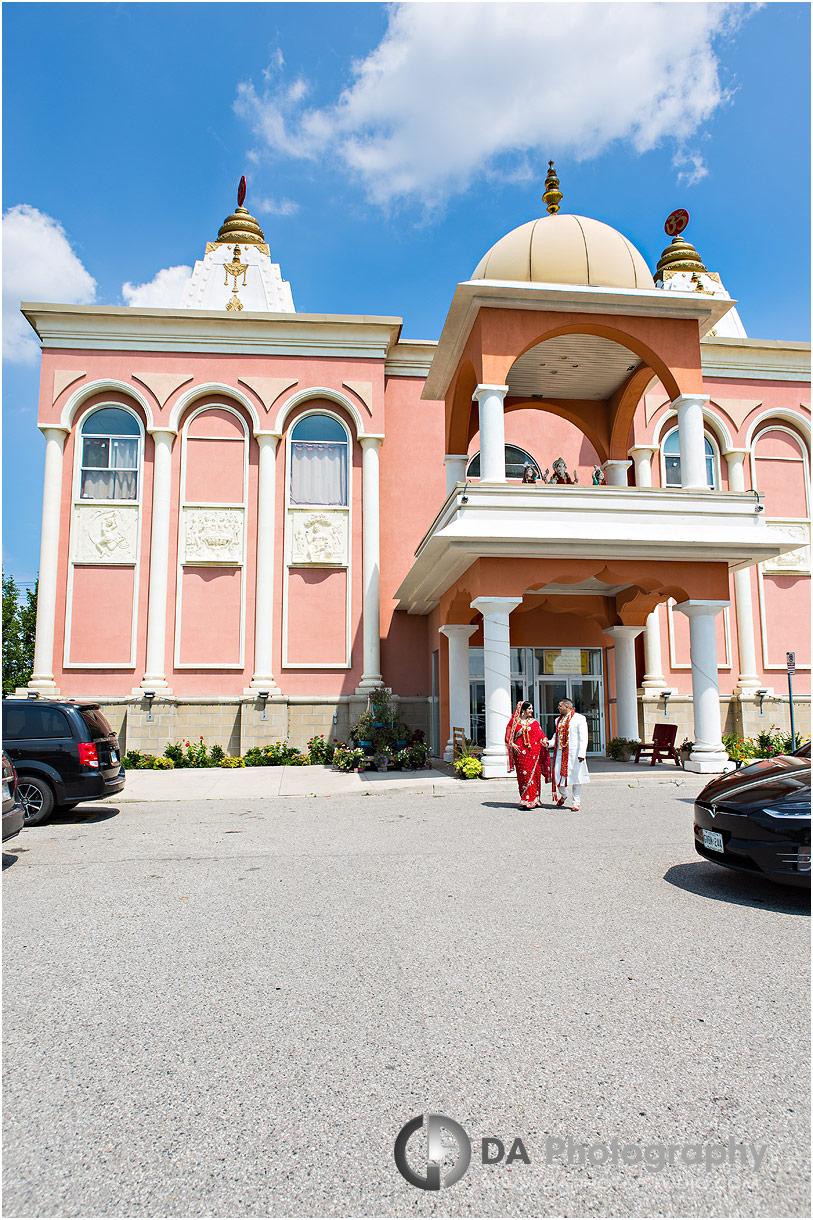 Weddings at Hindu Temple in Mississauga