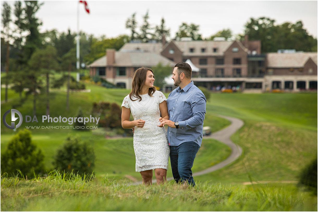 Hamilton Golf Club Engagement