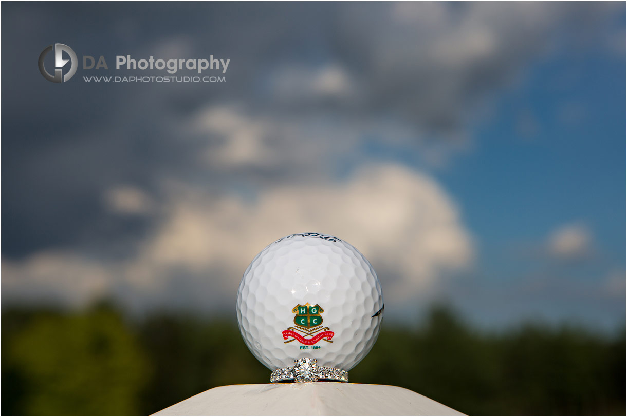 Engagement at Hamilton Golf Club in Ancaster