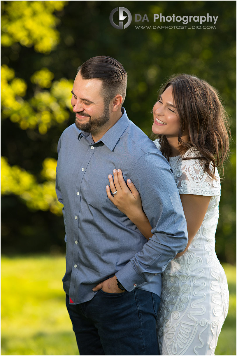 Engagement Photos at Hamilton Golf Club in Ancaster