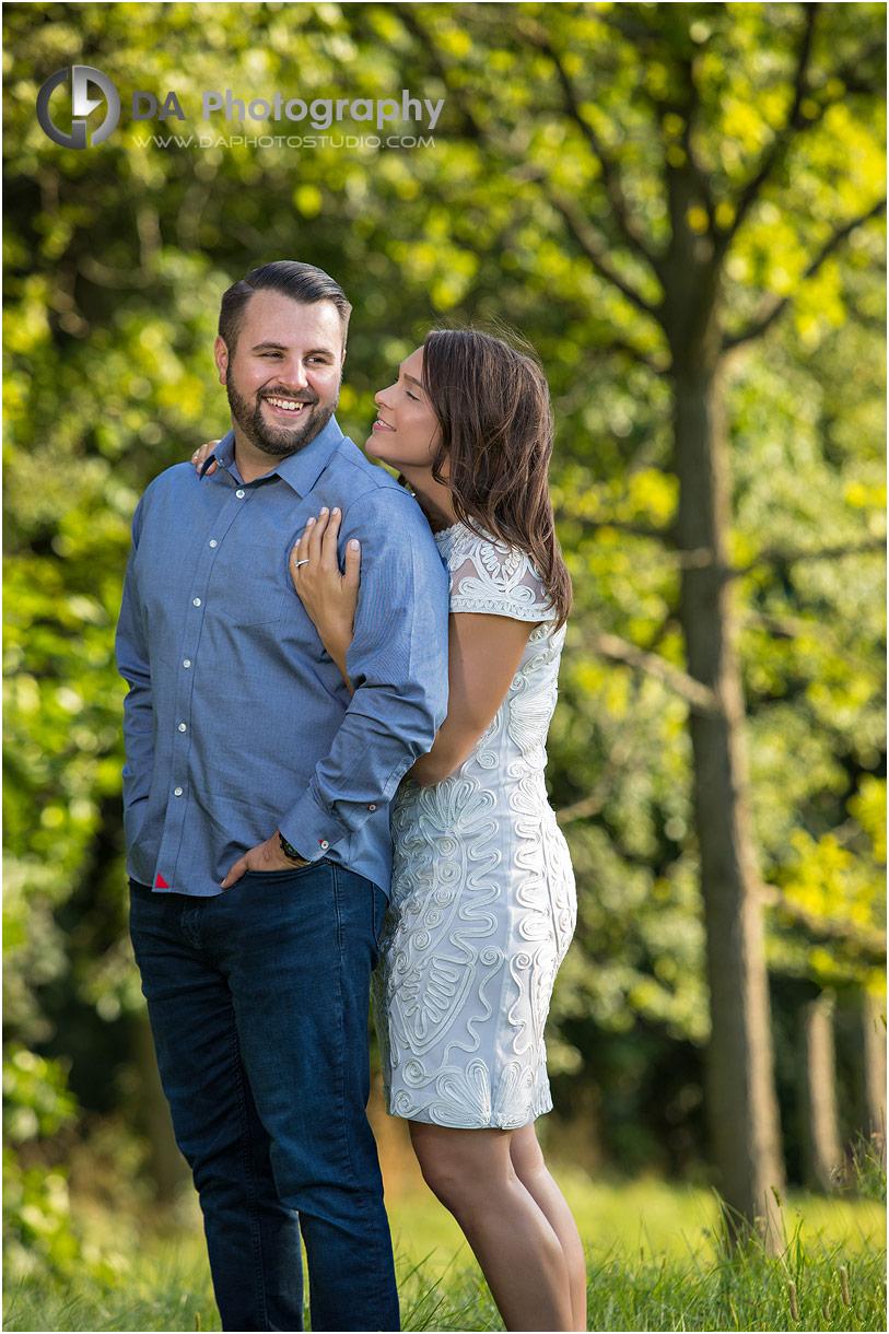 Engagement Photographer for Hamilton Golf Club