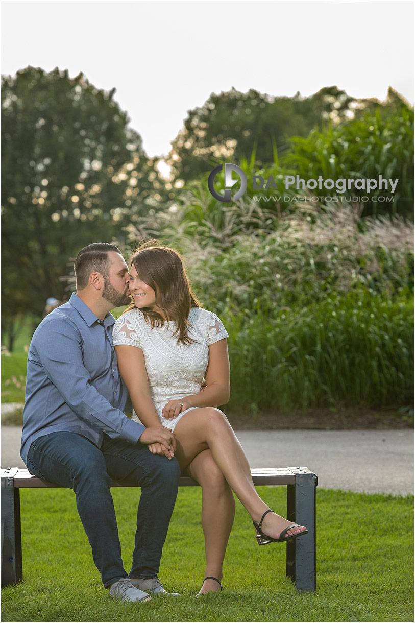 Engagement Photographs at Hamilton Golf Club