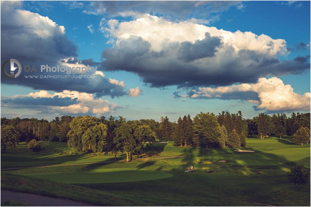 Hamilton Golf Club Engagement Photos