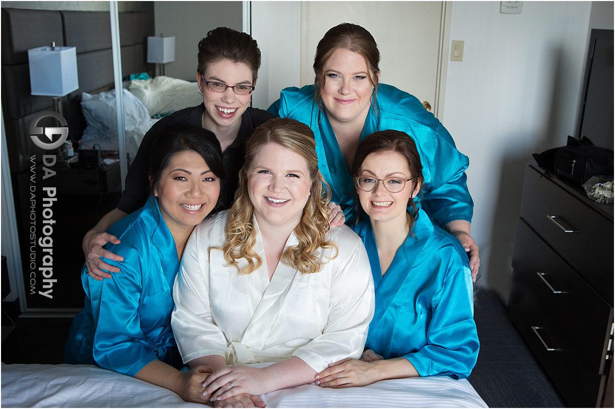 Bridesmaids in Mississauga