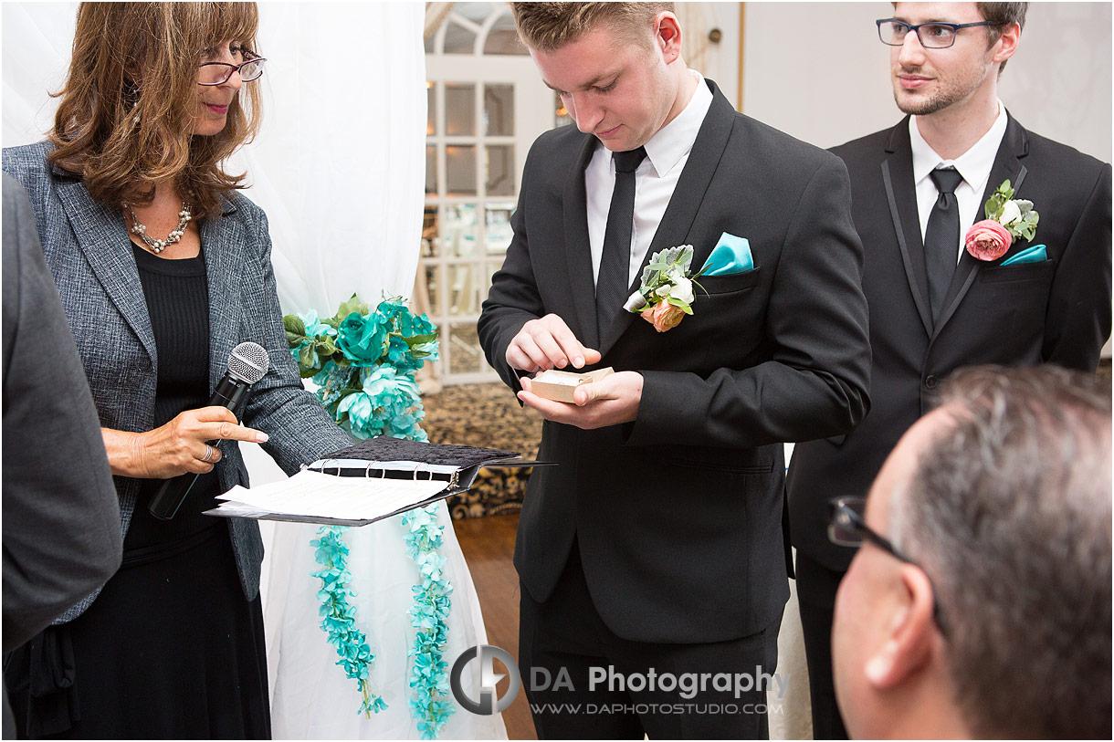 Wedding Ceremony at Roma's Hospitality Centre