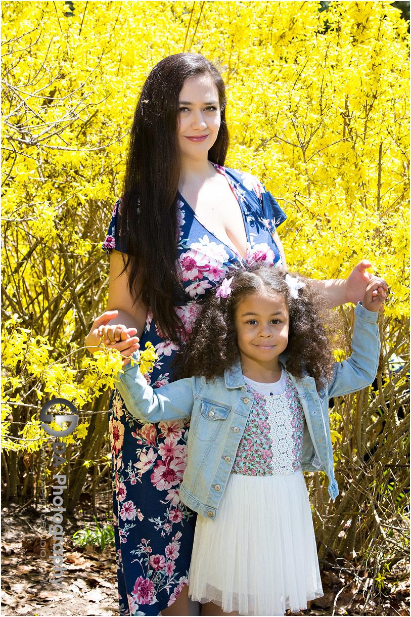 Family photographer at High Park