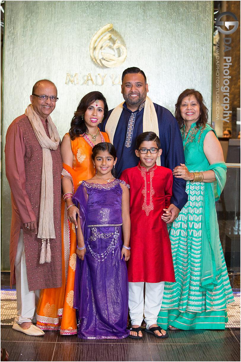 Family Photos during Hanna celebration