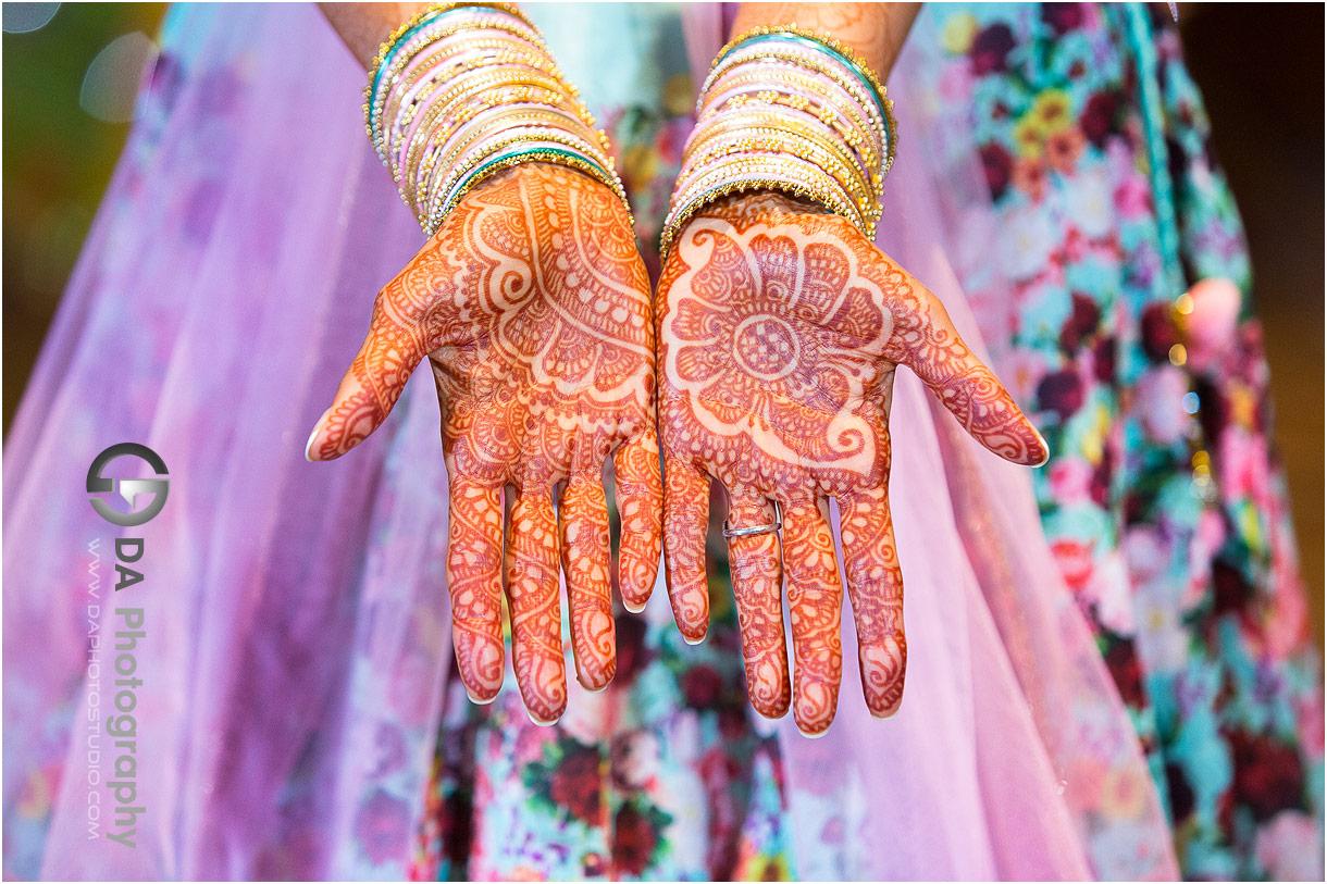 Henna stain design photos