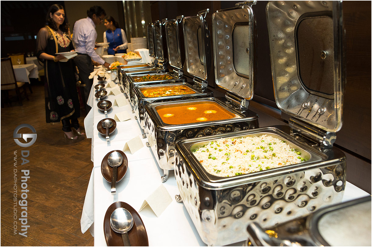Food station at Mehndi Party event